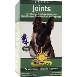 Renew Life Healthy Joints for Pets 60 tabs