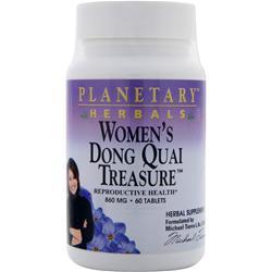 Planetary Formulas Women's Dong Quai Treasure (860mg) 60 tabs