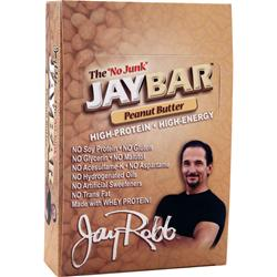 JAY ROBB JayBar Peanut Butter 12 bars