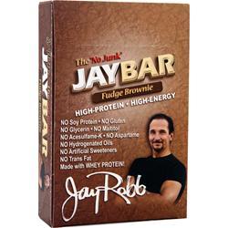 JAY ROBB JayBar Fudge Brownie 12 bars