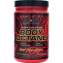 MAN SPORTS Body Octane Citrus Breeze 318 grams