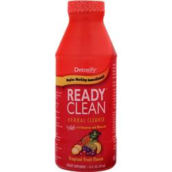DETOXIFY Ready Clean - Herbal Cleanse Tropical Fruit 16 fl.oz