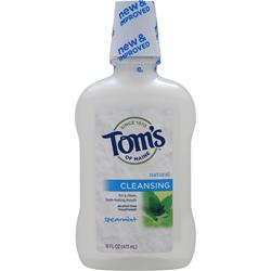 TOM'S OF MAINE Natural Cleansing Mouthwash Spearmint 16 fl.oz
