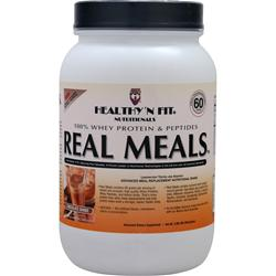 Healthy N Fit Real Meals Chocolate Shake 2.09 lbs