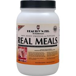 HEALTHY N FIT Real Meals Strawberry Shake 2.09 lbs