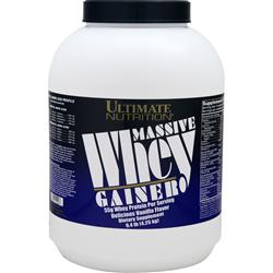 Ultimate Nutrition Massive Whey Gainer Vanilla 9.4 lbs