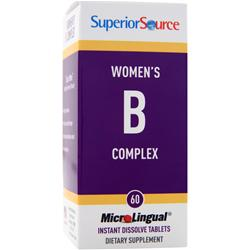 Superior Source MicroLingual Women's B Complex 60 tabs