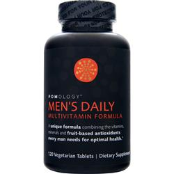 POMOLOGY Men's Daily Multivitamin Formula 120 tabs