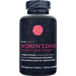 POMOLOGY Women's Daily Multivitamin Formula 120 tabs