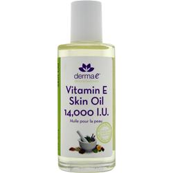 DERMA-E Vitamin E Skin Oil 14,000IU 2 oz