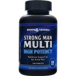 BodyStrong Strong Man Multi - High Potency 180 tabs