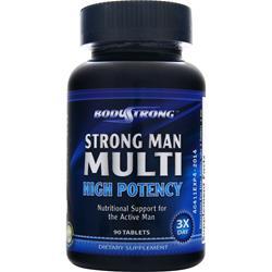 BodyStrong Strong Man Multi - High Potency 90 tabs
