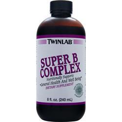 TWINLAB Super B-Complex Liquid 8 fl.oz