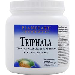 Planetary Formulas Triphala Powder 16 oz