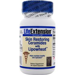 LIFE EXTENSION Skin Restoring Ceramides with Lipowheat 30 caps