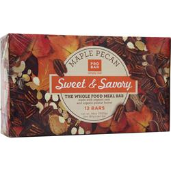 PRO BAR Sweet & Savory Bar Maple Pecan 12 bars