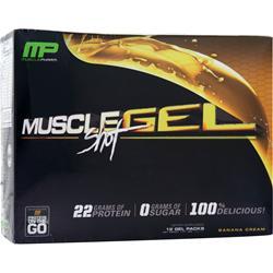Muscle Pharm MuscleGel Shot Banana Cream 12 pckts