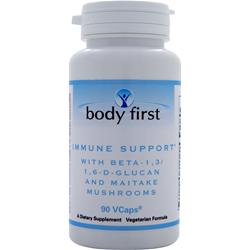 Body First Immune Support with Beta-1,3/1,6-D-Glucan and Maitake Mushrooms 90 vcaps