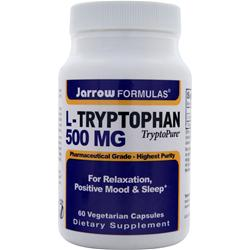 JARROW L-Tryptophan (500mg) 60 vcaps
