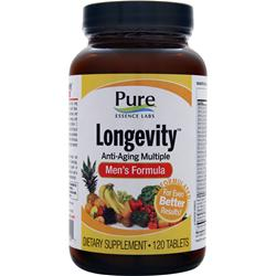 Pure Essence Labs Longevity - Men's Formula 120 tabs