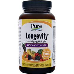 PURE ESSENCE LABS Longevity - Women's Formula 120 tabs