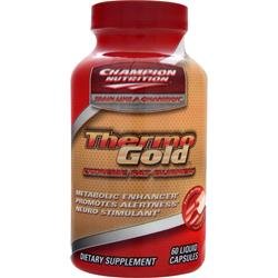 CHAMPION NUTRITION Thermo Gold - Extreme Fat Burner 60 lcaps