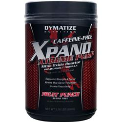 DYMATIZE NUTRITION Xpand Xtreme Pump - Caffeine Free Fruit Punch 1.76 lbs