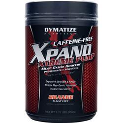 Dymatize Nutrition Xpand Xtreme Pump - Caffeine Free Orange 1.76 lbs