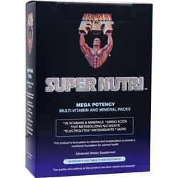 Healthy N Fit Super Nutri - Mega Potency Multi-Vitamin and Mineral Packs 30 pckts