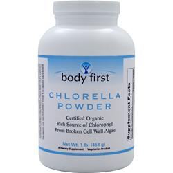BODY FIRST Chlorella Powder - Organic 1 lbs