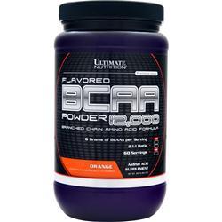 Ultimate Nutrition BCAA Powder 12,000 Orange 457 grams