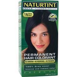 Naturtint Permanent Hair Colorant 1N Ebony Black 5.28 fl.oz