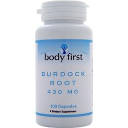 BODY FIRST Burdock Root (430mg) 100 caps
