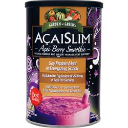 Garden Greens AcaiSlim - Acai Berry Smoothie 390 grams
