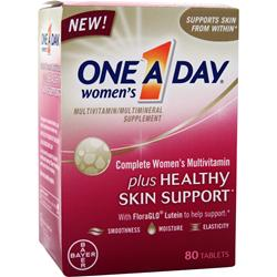 BAYER HEALTHCARE ONE A DAY Women's plus Healthy Skin Support 80 tabs
