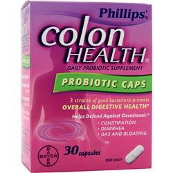 BAYER HEALTHCARE Phillips' Colon Health Probiotic Caps 30 caps