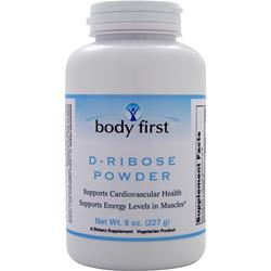 BODY FIRST D-Ribose Powder 8 oz