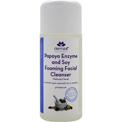 DERMA-E Papaya Enzyme and Soy Foaming Facial Cleanser 6 fl.oz