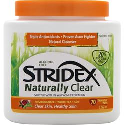 BLISTEX Stridex Naturally Clear 70 pads