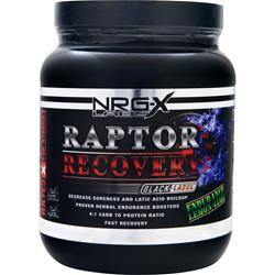 NRG-X Labs Raptor Recovery Endurance Lemon-Lime 2.24 lbs