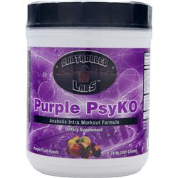 CONTROLLED LABS Purple PsyKO Purple Fruit Punch 1.31 lbs
