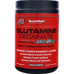 MUSCLEMEDS Glutamine Decanate Unflavored 10.58 oz