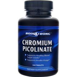 BodyStrong Chromium Picolinate (200mcg) 360 tabs