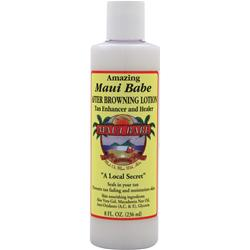 Maui Babe After Browning Lotion - Tan Enhancer and Healer 8 fl.oz
