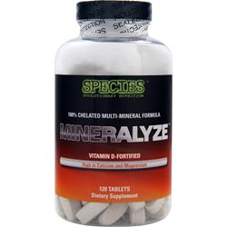 SPECIES Mineralyze 120 tabs