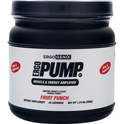 Ergogenix Ergo Pump Fruit Punch 1.24 lbs