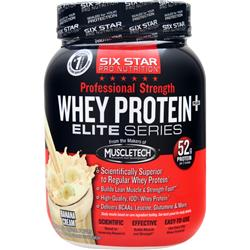 Six Star Pro Nutrition Professional Strength Whey Protein Banana Cream 2 lbs