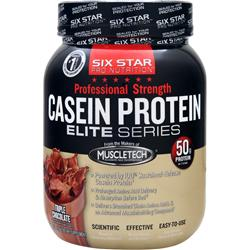 Six Star Pro Nutrition Professional Strength Casein Protein Elite Series Triple Chocolate 1.5 lbs