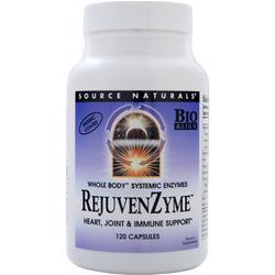 SOURCE NATURALS RejuvenZyme 120 caps