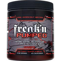 FREAK'N MUSCLE Freak'n Pumped Grape 238 grams
